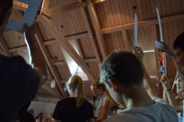 Präsentation der Münchner Tandemwerkstatt beim White Ravens Festival, Juli 2016 (c) IJB